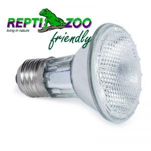 Лампа точечного прогрева ReptiZoo 75W